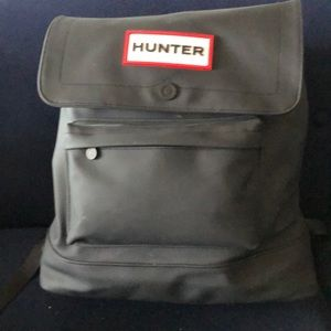 Hunter for Target large black backpack NWT